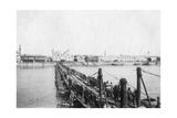 Kotah Boat Bridge, Baghdad, Iraq, 1917-1919 Giclee Print