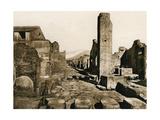 Strada Stabiana, Pompeii, Italy, C1900s Giclee Print