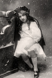 Decima Brooke in Little Red Riding Hood, 1907 Photographic Print