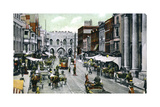 The High Street, Southampton, Hampshire, Late 19th Century Giclee Print by FGO Stuart
