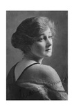 Marie Hemingway (1883-193), English Actress, 1916 Giclee Print by Elliott & Fry