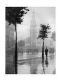 St Clement Danes Church, Strand, London, 1924-1926 Giclee Print by GF Prior