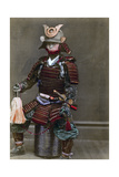 A Samurai in Armour, Japan, 1882 Giclee Print by Felice Beato