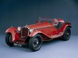 A 1933 Alfa Romeo 8C 2300 Corto Photographic Print