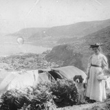 Camping, Late 19th or Early 20th Century Photographic Print