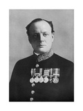 Winston Churchill, First Lord of the Admiralty, 1914-1915 Giclee Print by Elliott & Fry