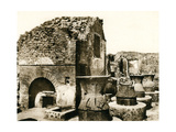 The Bakery and Mill, Pompeii, Italy, C1900s Giclee Print