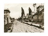 Via Delle Tombe, Pompeii, Italy, C1900s Giclee Print