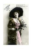 A Happy Yule, 1913 Giclee Print