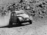 A Citroën 2CV Rally Car Photographic Print