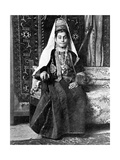 Christian Woman in a Wedding Dress, Palestine, 1936 Giclee Print by Donald Mcleish