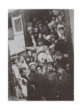 The Unovis Group in Vitebsk on June 5, 1920, 1920 Giclee Print