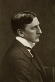 Alfred Edward Woodley Mason, British Author, 1910 Photographic Print by Elliott & Fry