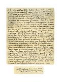 Letter from Desiderius Erasmus to Nicholas Everaerts, 24th December 1525 Giclée-tryk af Desiderius Erasmus