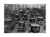 Traffic on 5th Avenue as Seen from a Control Tower, New York City, USA, C1930s Giclee Print by Ewing Galloway