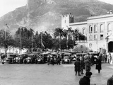The Finish of the Monte Carlo Rally, 1929 Photographic Print