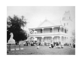 The King's Palace, Tonga, 1899 Giclee Print by  Burton Brothers