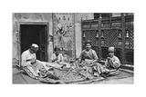 Craftsmen, Tentmakers' Bazaar, Cairo, Egypt, C1922 Giclee Print by Donald Mcleish