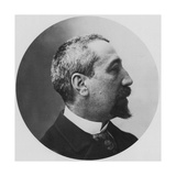 Anatole France, French Poet, Journalist and Novelist, 1870S Giclee Print by Felix Nadar