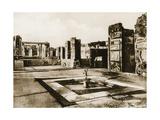 Tempio Di Apollo, Pompeii, Italy, C1900s Giclee Print