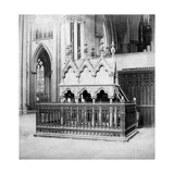 Monument of Walter De Grey, York Minster, York, North Yorkshire, Early 20th Century Giclee Print by George Washington Wilson