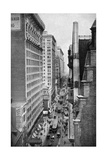 Chestnut Street, Philadelphia, Pennsylvania, USA, C1930S Giclee Print by Ewing Galloway