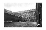 Courtyard of Saint Lazare Women's Prison, Paris, 1931 Giclee Print by Ernest Flammarion