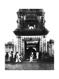 Temple, Singapore, 1900 Giclee Print