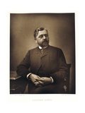 Gustave Eiffel, French Engineer, 1880 Giclee Print by Eugene Pirou