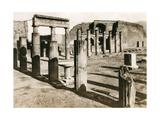 Foro Triangolare, Pompeii, Italy, C1900s Giclee Print