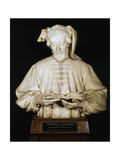 Bust of Geoffrey Chaucer, Medieval English Poet, 1902-1903 Photographic Print by George Frampton