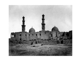 Sultan Barquq Mosque, Cairo, Egypt, 1878 Giclee Print by Felix Bonfils