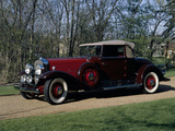 A 1930 Cadillac V16 Model 452 Reproduction photographique