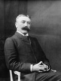 Ferdinand De Saussure (1857-191), C. 1900 Photographic Print