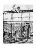 Primitive Methods in the World's Richest Tin District, Taiping, China, 1936 Giclee Print by Ewing Galloway