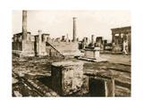 Tempio Di Giove, Pompeii, Italy, C1900s Giclee Print