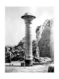 Column at Karnak, Egypt, 1863-1864 Giclee Print by Emmanuel Rouge