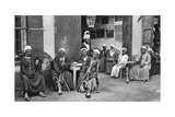 Arab Cafe at Esna, South of Luxor, Egypt, C1922 Giclee Print by Donald Mcleish