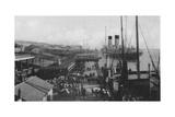 Landing Stage, Liverpool Docks Giclee Print