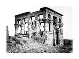 Trajan's Kiosk at Philae, Nubia, Egypt, 1878 Giclee Print by Felix Bonfils