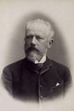 Peter Ilich Tchaikovsky, Russian Composer, Late 19th Century Photographic Print by Charles Reutlinger