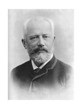 Pyotr Ilyich Tchaikovsky (1840 - 189), Russian Composer Giclee Print by Charles Reutlinger