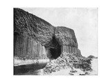 Fingal's Cave, Scotland, Late 19th Century Giclee Print by John L Stoddard