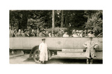 Motor Tours to Dartmoor by the Grey Torpedo Cars, Early 20th Century Giclee Print by  Pyne