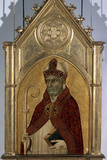 Saint Augustine, 1320S Fotodruck von Simone Martini