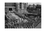 The Funeral of King Edward VII, Windsor, Berkshire, 1910 Giclee Print by  Swain