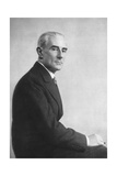 Maurice Ravel (1875-193), French Composer Giclee Print by  Lipnitzki