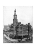 Town Hall and Square, Sydney, Australia, Late 19th Century Giclee Print by John L Stoddard