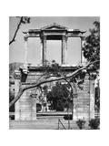 Hadrian's Arch, Athens, 1937 Giclee Print by Martin Hurlimann