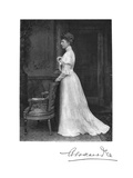 Queen Alexandra (1844-192), Queen Consort of King Edward Vii, 1908 Giclee Print by  Downey
